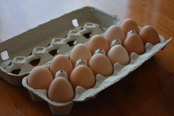 One Dozen Medium Eggs